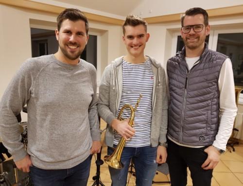 Jannis ist Musiker des Jahres – Jahreshauptversammlung der Schützenkapelle Rhade